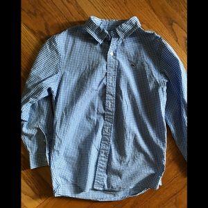 Vineyard Vines Boys button down whale shirt size 7